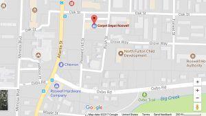 Carpet Depot Roswell-Google-Maps