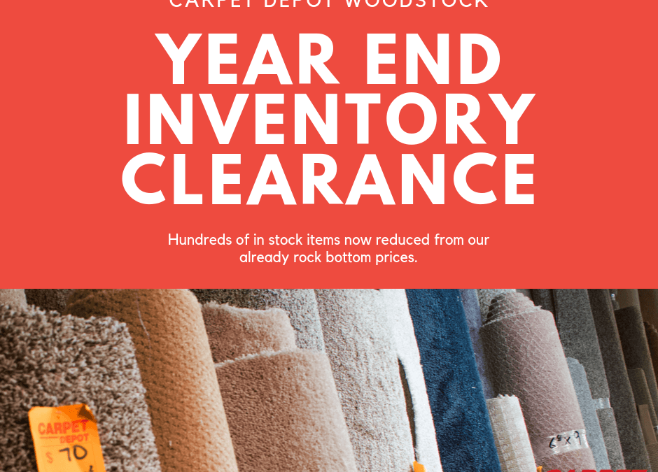 Year End Inventory Clearance