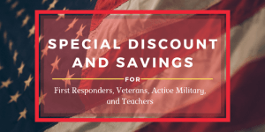 Special Discount and Savings